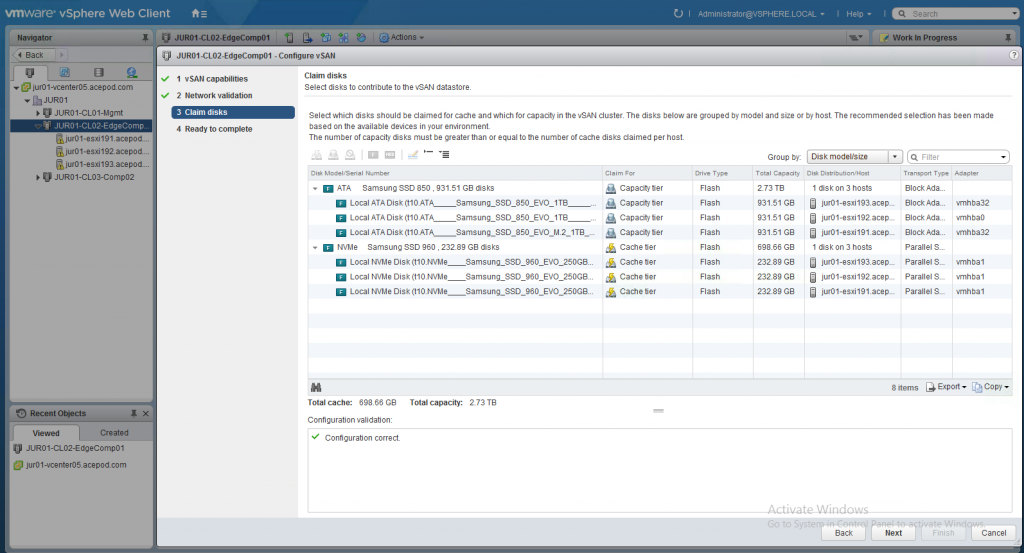 New Home Lab – vSAN 6.6 Ready